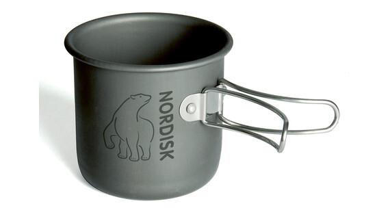 Nordisk Kubek aluminiowy 200 ml, szary/srebrny